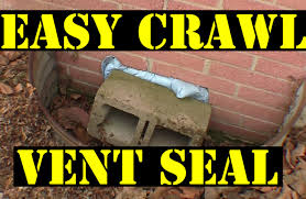 crawl space ventilation fan crawl space vent sealing the easy way youtube
