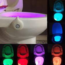 Motion Sensor Bathroom Light Smart Led Lamp With The Motion Sensor Bowl Light Emergency Toilet