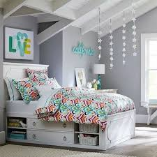 chambre couleur grise chambre fille ado 30 idées de design magnifique