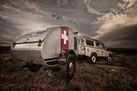 overland camper vintage inspired craftsmen built caravans vintage overland