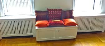 under window seat storage hand crafted radiator cover with window seat by hammer time
