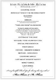 exles of wedding ceremony programs best wedding day program template contemporary exle resume