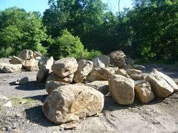 large landscaping boulders