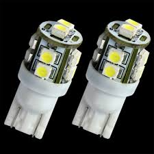 t10 194 168 wedge 3528 10 led bulb for interior light map