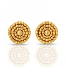 gold ear ring images gold earring jacknjewel