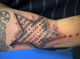 100 star design tattoos for men amazing small tattoos