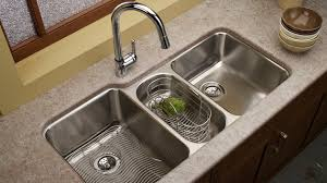 Functional Double Basin Kitchen Sink Home Design Lover - Double kitchen sink