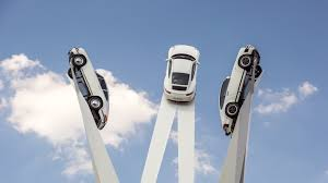 stuttgart porsche factory porsche unveils goodwood like sculpture of 911s in zuffenhausen