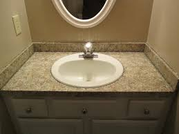 Painting Bathroom Countertops Awesome Post Formed Countertops Photos Home Decorating Ideas