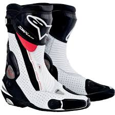 red motorbike boots alpinestars smx plus mens black white and red motorcycle boots