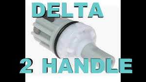 How To Repair Delta Kitchen Faucet Delta 2 Handle Faucet Fix Leaks U0026 Drips Youtube