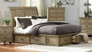 King Platform Bed With Storage Homelegance Sylvania Platform Bed Driftwood 2298sl 1