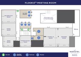 Conference Room Floor Plan Novotel Bangkok Sukhumvit 20 Meeting Rooms Floor Plan