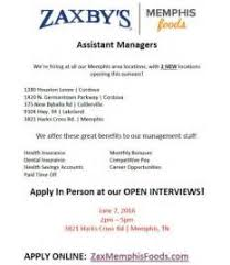zaxbys job application letters of application for job