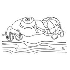 beach coloring pages 20 free printable sheets color