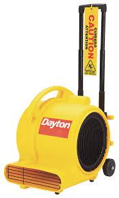 Floor Blower by Dayton Carpet Floor Dryer 120v 1800 Cfm Yellow 5ump5 5ump5
