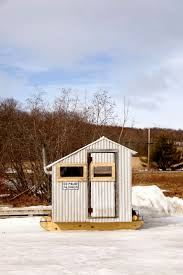 cheap hunting cabin ideas best 25 ice shanty ideas on pinterest ice fishing shanty ice
