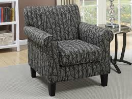 furniture 54 poundex f1528 fabric print chenille accent chair