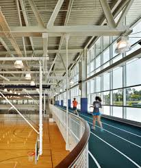 monconseil sports hall by explorations architecture hall