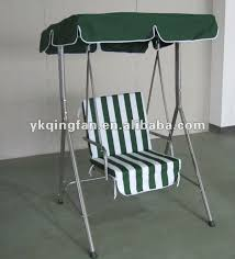 single seat garden patio swing chair with canopy buy patio swing