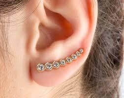 ear cuffs ireland black ear cuff etsy