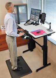 Stand Up Desk Exercises Stand Up Desks U2013 Are They The Real Solution
