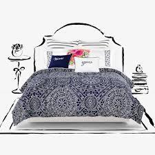 kate spade new york eyelet medallion duvet cover set bed bath