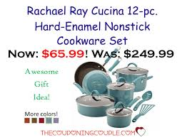 target rachel ray cookware black friday rachael ray cucina 12 pc hard enamel nonstick cookware set