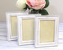 Shabby Chic Picture Frames Wholesale by Table Number Frames Etsy