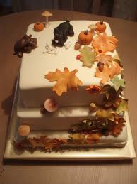 fall dog birthday cake this is the bigest and heaviest cak u2026 flickr