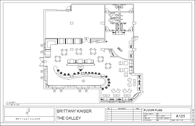 floor plan restaurant restaurant design the galley brittany kaiser bar floor plan