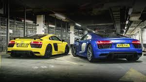 lexus lfa vs audi r8 drag race audi r8 triple test v10 plus vs v10 vs spyder car news bbc