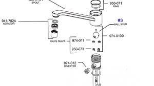 pfister kitchen faucet parts mesmerizing repair parts for delta kitchen faucets in faucet diagram