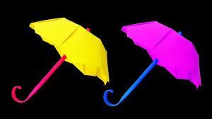 how to make an origami umbrella for kids very easy hd 00