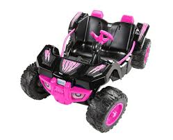 pink toy jeep power wheels desert racer 12 volt ride on pink toys