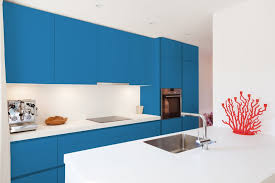 light blue kitchen walls cabinets 15 kitchens in blue the color trend in kitchen design