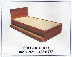 Pullout Bed Larry Bed With Pullout 48