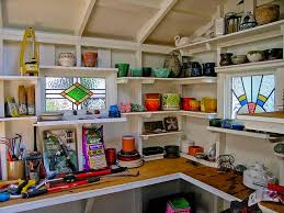 Building Wood Shelves In Shed by 25 Best Shed Shelving Ideas On Pinterest Tool Shed Organizing