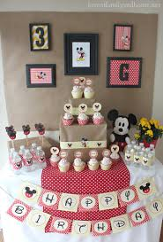 mickey mouse birthday party mickey mouse birthday party ideas griffin turns three of