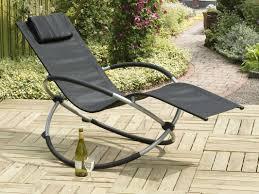 Rocking Chair Makers Suntime Outdoor Living Orbit Relaxer Rocking Chair U0026 Reviews Wayfair