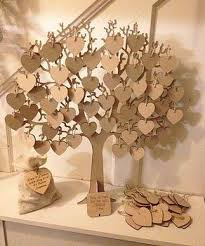 wishing tree guestbook wishing tree large wooden guest book 2553555 weddbook