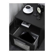 Ikea Bedside Tables Brimnes Bedside Table Black Ikea