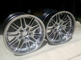 thoughts on powder coating the stock wheels