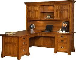 solid wood corner computer desk with hutch computer desk with hutch wood awesome solid wood mission corner desk