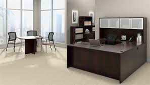 Offices To Go OTG Desk made in American Mahogany AML at Boca Office