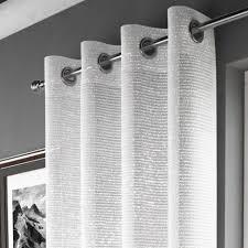 Glitter Curtains Ready Made White Sparkle Curtain Panel Tony S Textiles Tonys Textiles