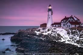 portland head light lighthouse portland headlight lighthouse in snow maine photography center