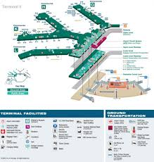 Bank Of America Map by Ord Map Chicago Ord Airport Map United States Of America