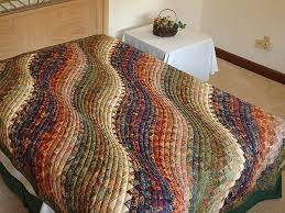 bargello wave quilt outstanding cleverly made amish quilts from