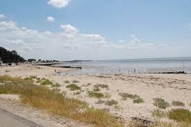 fa軋de cuisine leroy merlin la plage la mer les mouettes à quelques mètres les moutiers